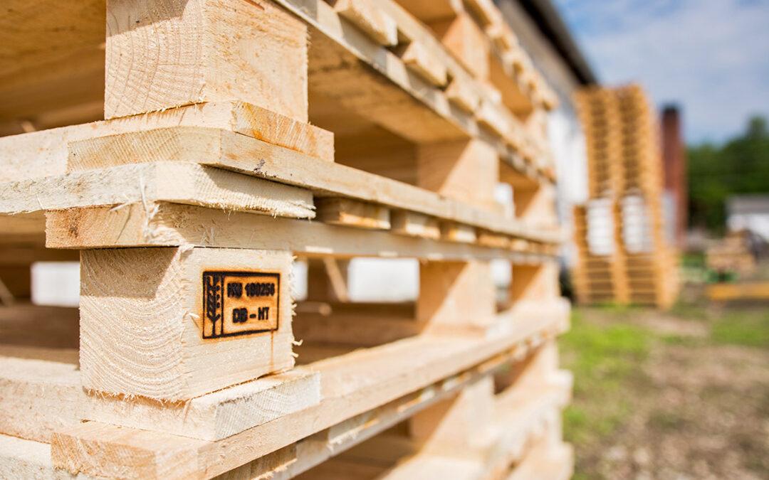 A Sebestyén Wood az első a hazai raklapgyártók között!